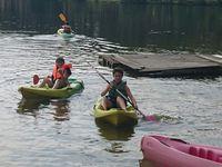 Sortie au lac de Clarens des collégiens