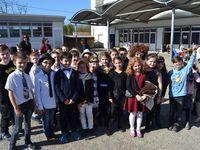 Les classes de CM1 CE2 et ULIS école