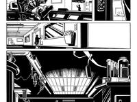 Premières pages de la BD avant colorisation !