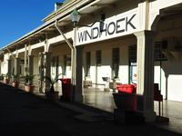 Gare de Windhoek - Trains de Namibie