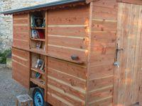 A vendre petite roulotte bibliothèque ou autres rêveries dans l'espace public / Envoyée le 20/01/2016