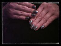 Nail art Stamping avec BBF....