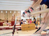 Reportage de sport et portrait à Saint Pierre des Corps, Gymnastique. Suivi de jeunes gymnastes.