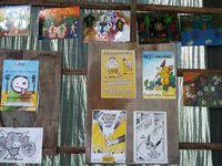 Expo peinture au petit marché