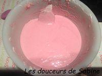 Macarons aux framboises (version ganache)