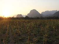 La merveilleuse région de Vang Vieng