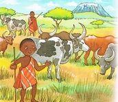 Découverte du monde, la vie des enfants d'Afrique...