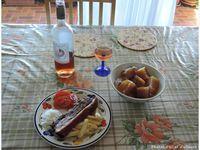 Porc croustillant et Poé citrouille