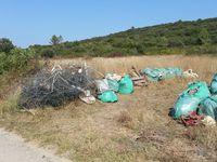 La garrigue fonsoise débarrassée de ses déchets