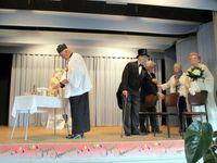 """Les """"Bons Tirebouchonneux"""" ont fait la fête pour les 90 ans de l'un des leurs, Paul Trottier"""