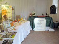 Les compositions des artistes amateurs, la soupe de tante Véronique, le vin chaud de Gérard et de Jean-Paul, les produits locaux, la décoration raffinée, les mets et saveurs succulents