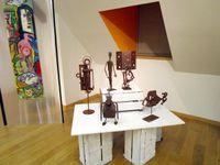 Les Tart'empion travaillés à deux mains par Sophie et Giovanni et les sculptures de Giovanni