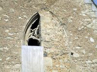 La nef côté nord&#x3B; extérieur de la chapelle côté sud&#x3B;  le porche&#x3B; ouverture sud&#x3B; l'abside