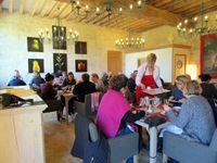"""Déjeuner au restaurant """"Le Plessis""""&#x3B; arrivée au complexe halieutique de Tréhet et initiation à la pêche&#x3B; une carpe enfin !"""