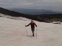 Etna Up&amp&#x3B;Down. Salvatore Ragonese ce l'ha fatta: ha stabilito un nuovo record di ascesa e salita sull'Etna in un sol giorno