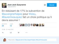EXCLUSIF / Région : Queyranne et les élus PS en pleine violation du règlement !
