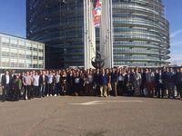 Le FNJ Loire était au Parlement Européen pour #EYE2016