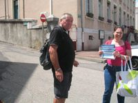 Saint-Pierre de Boeuf : le militantisme de terrain continue !