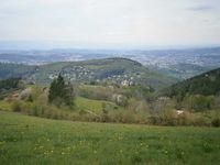 Au loin : Saint-Etienne