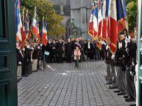 Commémoration de l'Armistice et remise de médailles à Quimper