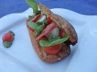 Recette autour d'un ingrédient #9 - Eclair tomate mozarella