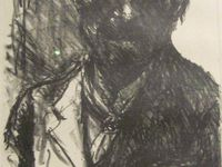 Lovis Corinth (1909) - Imogen Cunningham (négatif de 1910) - Lovis Corinth (1919)