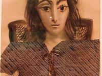 Portraits de Jacqueline entre 1954 et 1962