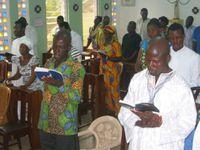 Visite des parents au noviciat à Nkwatia-Kwahu - Ghana
