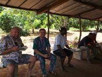 Pique-nique à la ferme SVD près de Lomé