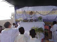 Christ Roi dans la paroisse d'Agbalépédogan à Lomé