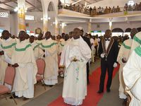 Messe Chrismale dans la paroisse d'Agbalépédogan
