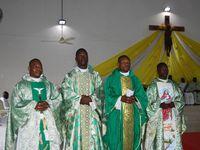 Evêque de Dapaong dans la paroisse d'Agbalépédogan, Lomé