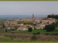 Le Mont Ventoux au loin. Visan. Richerenches.Chamaret.Château de Grignan. Grillon