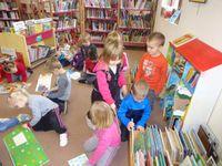 1ère séance à la bibliothèque - Classe d'Aurélie