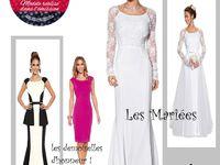 les Robes de Mariées vues dans le site burda, pour inspiration !( dans l'emission les candiates ont fait leur patron /moulage elles même).