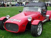 Dans l'ordre : Dax Rush, Dragon, Dutton Phaeton, Eldon Roaster R11, Formula 27, GKD Legend, GBS Zero, Haynes Roadster, Kougar Sport