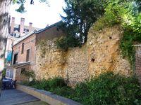 Evreux, promenade au bord de l''Iton, près de l'ancien mur d'enceinte, Clx3 Elisabeth Poulain