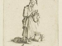 Jacques Callot, Superbia, Avaricia, Gula, 3 des 7 péchés capitaux, Clichés Gallica, BNF, Paris