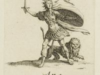 Jacques Callot, Inuidia, Luxuria, Ira, Estampes des 7 péchés capitaux, vers 1620, ClichésGallica, BNF, Paris