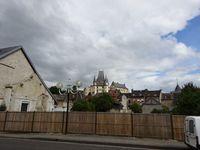 Gaillon ville, vue sur le château, rue des Arrière-Fossés,Cl. Elisabeth Poulain