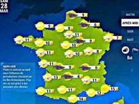 Cartographie © Météo France http://www.meteofrance.com/previsions-meteo-france/paris-01e-arrondissement/75001