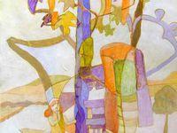 Peintures d'Isabelle Bisson, 2007 / 2009