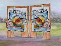 Voyages entre la peinture et la composition numérique... (I)