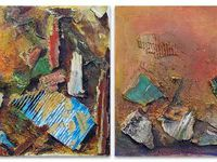 Peintures et collages de Colette Roullin (Cliquez pour grandir)