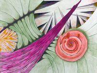 Peintures de : Marithé Henriot - Monika Jacques-Gustave - Ladin Sabras (cliquez pour agrandir)