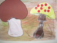Décembre 2015 : Que s'est-il passé aux TAP ? Réalisation de pommes et de champignons