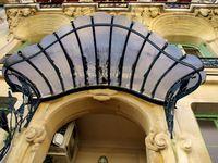 L'immeuble art nouveau &quot&#x3B;Les Arums&quot&#x3B;  à Paris