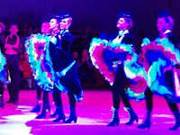 """Cabaret French Cancan par la """"Compagnie Grain de Folie"""" nous a emporté dans l'univers du Music-Hall"""