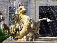 La fontaine de Diane La fontana du Diana Piazza Archimede