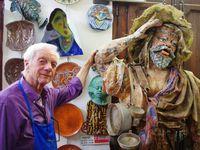 L'atelier de céramique de Gaspare Patti à Sciacca. Il laboratorio di ceramica Gaspare Patti a Sciacca